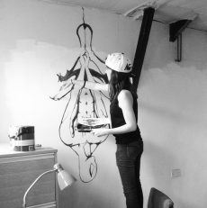painting spidey