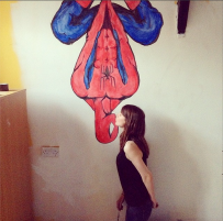 spidey kiss